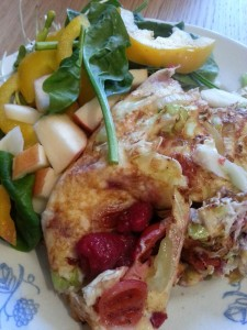 Omelett 3