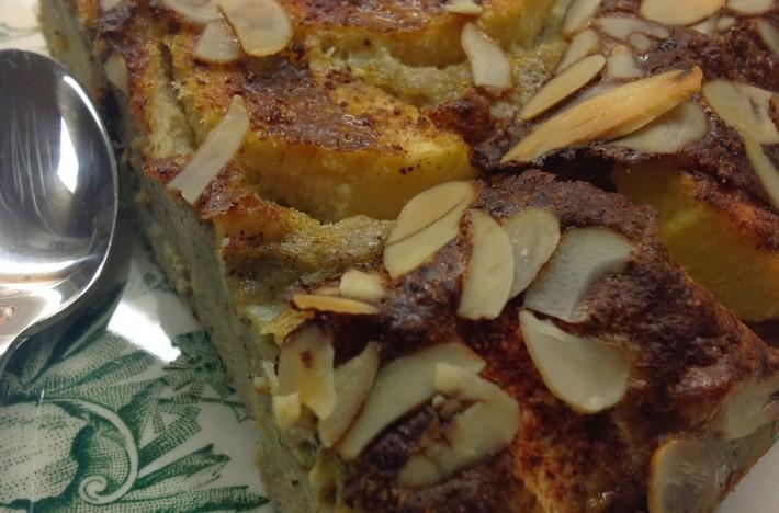 Bild på äpplepannkaka gjord enligt paleo.