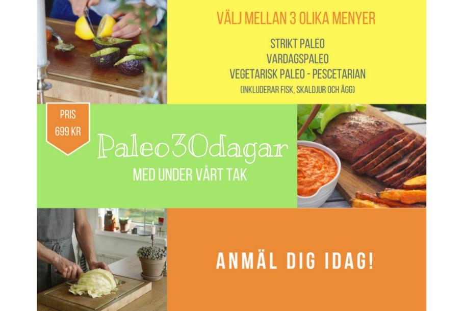 Hälsoutmaning Paleo30dagar
