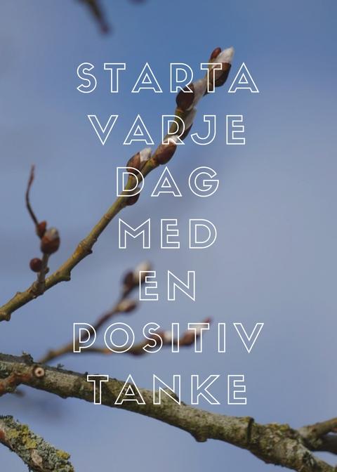 Drömmar och positiv tanke