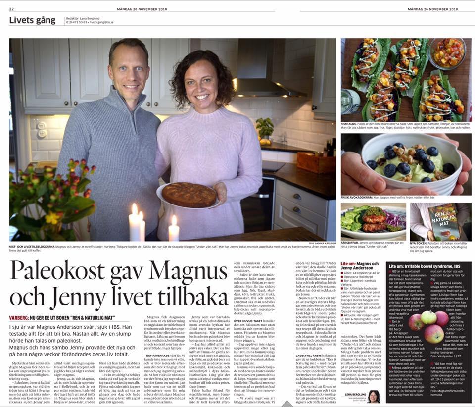Hallands Nyheter kokbok