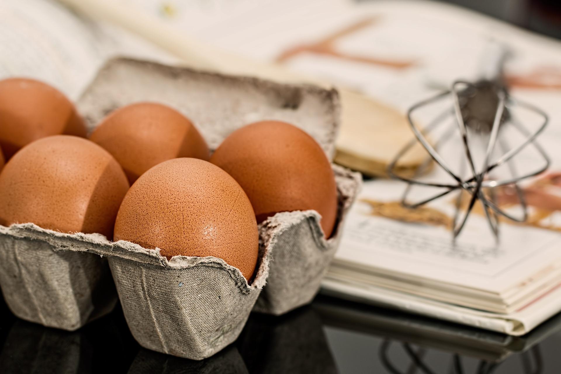 chiafrön istället för ägg