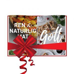 Böckerna Ren och Naturlig Mat och Nyttigare Gott