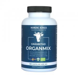 Burk med kosttillskott organmix