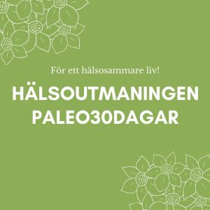 Hälsoutmaningen Paleo30dagar