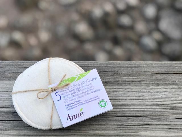 Anae rengöringspads i ekologisk bomull